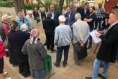 Андрей Дунаев встретился с жителями домов 57-59 на ул.Панфилова