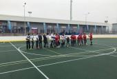 Сегодня, 8 ноября, состоялось официальное открытие хоккейной площадки, расположенной на территории МУС стадион «Глебовец».