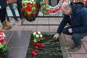 В Истре поклонились защитникам города и почтили их память в ходе памятного митинга