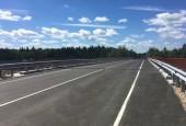 В городском округе Истра завершился ремонт путепровода на 2,5 километре региональной автодороги «Волоколамское шоссе-Онуфриево-Орешки-Колюбакино»