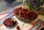 Истринцы и гости городского округа теперь могут познакомиться с творчеством известного подмосковного художника Серафима Володина. В арт-кафе Давыдов открыта выставка натюрмортов этого талантливого художника.