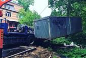С середины мая на территории городского округа Истра ведутся работы по демонтажу объектов гаражного хранения, установленных без согласования органов местного самоуправления.