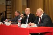 Вторую в этом году встречу с жителями руководитель администрации городского округа Истра Андрей Дунаев провел в Агрогородке