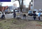 Фото отчет областного субботника в сельских поселениях Истринского района. Чистый двор - чистая совесть!
