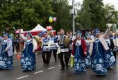 Лучшие коллективы Истры и района прошли в торжественной колонне по улицам города