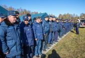 В Истриснком районе прошли областные совместные учения спасателей и волонтеров по поиску людей в лесном массиве