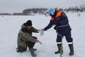 В Московской области усилена работа по обеспечению безопасности людей на льду водоемов