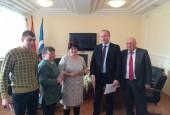 25 тысяч рублей получила лучший дворник Истринского района!
