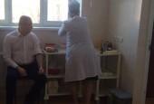 Руководитель районной администрации прошел диспансеризацию в в поликлинике Истринской районной клинической больницы