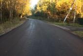 За октябрь в городском округе Истра отремонтировано 6 муниципальных дорог, 4 из которых – по программе «Дороги Подмосковья»