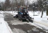 В зимний период дорожные и коммунальные службы городского округа Истра работают в усиленном режиме