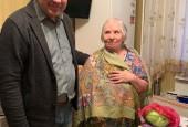 Долгожители городского округа Истра принимают поздравления по случаю юбилея
