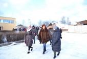Глава городского округа Истра проверила состояние образовательных учреждений в деревне Павловское