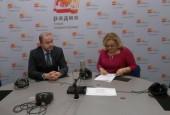 Андрей Дунаев в прямом эфире «Наше Подмосковье» ответил на вопросы по проблемам ЖКХ и благоустройства