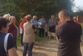 В территориальном управлении Ивановское жителям рассказывают об отвесности за мусор
