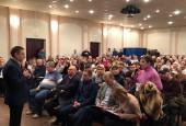 Встреча Андрея Вихарева с жителями пос. Снегири прошла в минувшую субботу