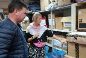 Истринцы собрали гуманитарную помощь в Иркутскую область