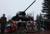 В Новопетровском открыли Парк Победы