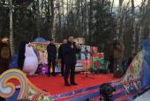 Главную новогоднюю ёлку России срубили в Истринском районе