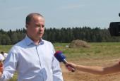 Руководитель районной Администрации Андрей Дунаев принял участие в открытии и запуске сыроварни известного фермера Олега Сироты.