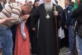 14 июля состоялось Великое освящение Храма Святого Николая в д. Никулино городского округа Истра.