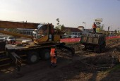 Строительство пересечения на автодороге М-9 «Балтия» - Веледниково – Лешково стартовало в Истре