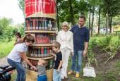 Мобильная библиотека заработала в городском парке Истры