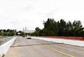 В г.о. Истра после реконструкции открыто рабочее движение по мосту через р. Истра у деревни Никулино