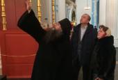 Свой первый рабочий визит новый министр культуры Подмосковья Оксана Косарева совершила в Ново-Иерусалимский монастырь