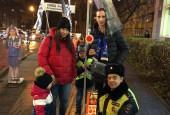 Курсанты «Академии детской безопасности» из Истры выступили за безопасность пешеходов
