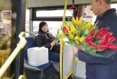 1,5 миллион женщин воспользовались 8 марта бесплатным проездом на транспорте Подмосковья