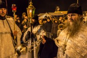 В Истринском районе прошли одни из самых массовых крещенских купаний в Подмосковье