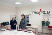 Свою первую рабочую поездку глава городского округа Истра Т.С. Витушева совершила в ТУ Павло-Слободское.
