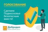 Определены победители голосования «Сделаем Подмосковье безопасным вместе»