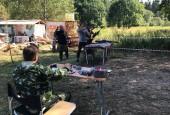 Лагерь юных казаков организовали в Истринском округе