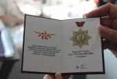 Андрей Дунаев награжден высшим орденом 1 степени им. М.Т. Калашникова