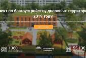 Голосование за включение дворовых территорий в программу комплексного благоустройства в 2019 году завершилось