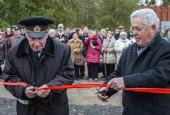 Новая экспозиция «Аллея артиллерии» открылась на территории Ленино-Снегирёвского военно-исторического музея