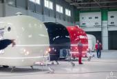 Глава округа А.Г. Вихарев посетил одно из крупнейших производств фуд-траков в России «EdaNaKolesah.com», которое расположено в деревне Лобаново г.о. Истра.
